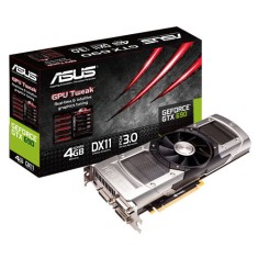 Placa de Video NVIDIA GeForce GTX 690 4 GB GDDR5 512 Bits Asus GTX690-4GD5