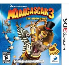 Jogo Madagascar 3: The Video Game 3DS DreamWorks Nintendo 3DS