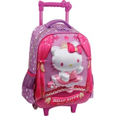 Mochila com Rodinhas Escolar PCF Global Hello Kitty Ballet G 924U01