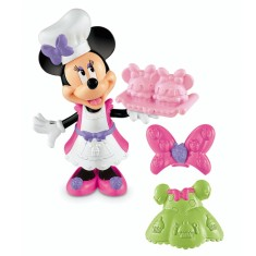 Boneca Disney Minnie Hora do Cupcake Mattel