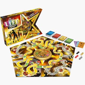 Jogo The Game of Life Fama Hasbro