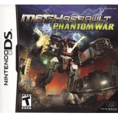 Jogo Mech Assault Phantom War Majesco Entertainment Nintendo DS