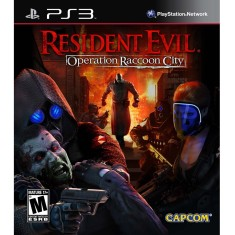 Jogo Resident Evil Operation Raccoon City PlayStation 3 Capcom
