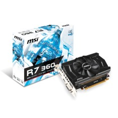 Placa de Video ATI Radeon R7 360 2 GB GDDR5 128 Bits MSI R7 360 2GD5 OC