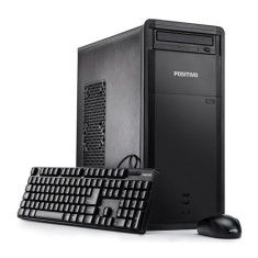 PC Positivo Stilo Intel Celeron J1800 2,40 GHz 2 GB HD 320 GB Intel HD Graphics DVD-RW Linux DRI3002