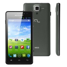 Smartphone Multilaser MS5 TV Digital 4GB NB207 8,0 MP 2 Chips Android 4.4 (Kit Kat) 3G Wi-Fi