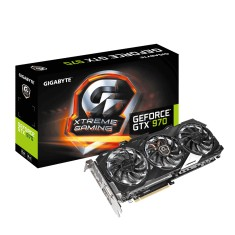 Placa de Video NVIDIA GeForce GTX 970 4 GB GDDR5 256 Bits Gigabyte GV-N970XTREME-4GD
