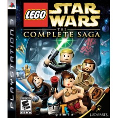 Jogo Lego Star Wars The Complete Saga PlayStation 3 LucasArts