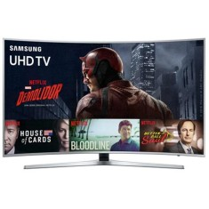 "Smart TV TV LED 65"" Samsung Série 6 4K HDR Netflix UN65KU6500 3 HDMI"