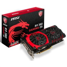 Placa de Video ATI Radeon R9 380 2 GB GDDR5 256 Bits MSI R9 380 GAMING 2G