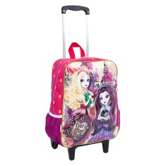 Mochila com Rodinhas Escolar Sestini Ever After High 16M G 63961