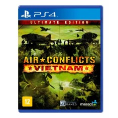 Jogo Air Conflicts Vietnam PS4 Majesco Entertainment