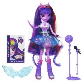 Boneca My Little Pony Equestria Girls Arrasam Twilight Sparkle Hasbro