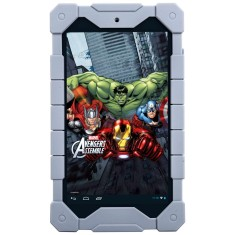 "Tablet Tectoy Avengers 8GB LCD 7"" Android 4.2 (Jelly Bean Plus) 2 MP TT5100i"