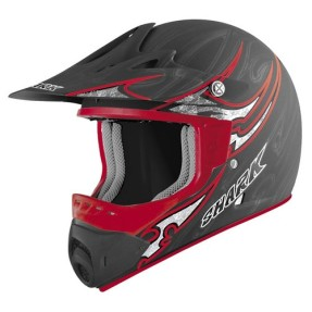 Capacete Shark SX1 Black One Kra Off-Road