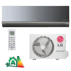 Ar Condicionado Split Hi Wall LG Libero Art Cool 18000 BTUs Inverter Controle Remoto Frio AS-Q182CRG2