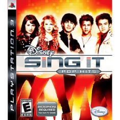 Jogo Sing It: Pop Hits PlayStation 3 Disney