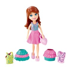 Boneca Polly Super Fashion Lila Mattel