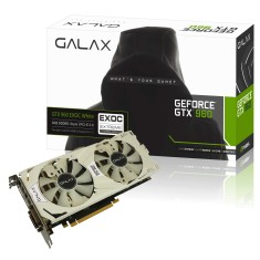 Placa de Video NVIDIA GeForce GTX 960 2 GB GDDR5 128 Bits Galax 96NPH8DVE8DC