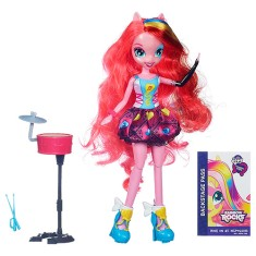 Boneca My Little Pony Equestria Girls Rainbow Rocks Pinkie Pie Hasbro