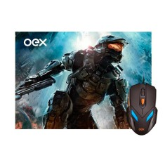 Mouse Óptico Gamer USB War MC100 - OEX