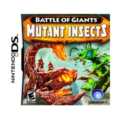 Jogo Battle of Giants: Mutant Insects Ubisoft Nintendo DS