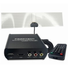 Receptor de TV Digital Full HD HDMI USB FT-TV-HD II Faaftech