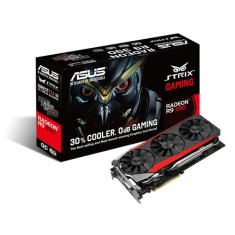 Placa de Video ATI Radeon R9 390 8 GB GDDR5 512 Bits Asus STRIX-R9390-DC3OC-8GD5-GAMING