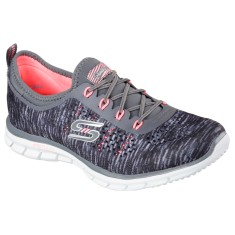 Tênis Skechers Feminino Academia Stretch Fit Glider Deep Space