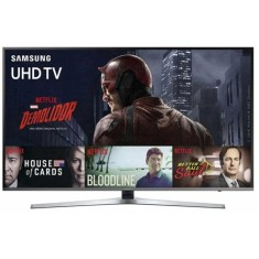"Smart TV TV LED 55"" Samsung Série 6 4K HDR Netflix UN55KU6400 3 HDMI"