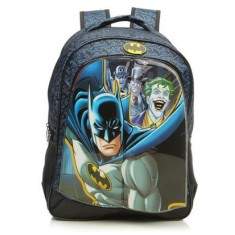 Mochila Escolar Xeryus Batman Gotham Faces 16
