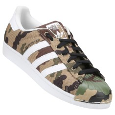 Tênis Adidas Masculino Casual Superstar Toe Pack