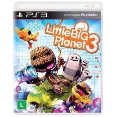 Jogo Little Big Planet 3 PlayStation 3 Sony