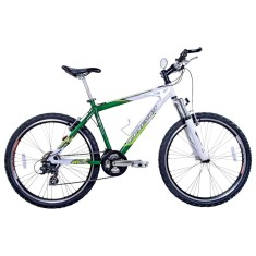 Bicicleta Mountain Bike Houston 21 Marchas Aro 26 Suspensão Dianteira Mercury HT