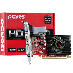 Placa de Video ATI Radeon HD 6450 2 GB DDR3 64 Bits PCYes PS64506402D3LP