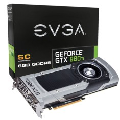 Placa de Video NVIDIA GeForce GTX 980 Ti 6 GB GDDR5 384 Bits EVGA 06G-P4-4992-KR
