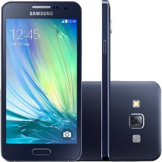 Smartphone Samsung Galaxy A3 16GB SM-A300M/DS 8,0 MP 2 Chips Android 4.4 (Kit Kat) 3G 4G Wi-Fi