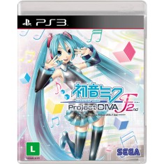 Jogo Hatsune Miku Project DIVA F 2nd PlayStation 3 Sega