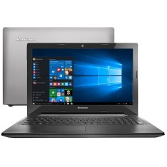 "Notebook Lenovo G Intel Core i7 5500U 5ª Geração 16GB de RAM SSD 240 GB 15,6"" Radeon R5 M230 Windows 10 Home G50-80"