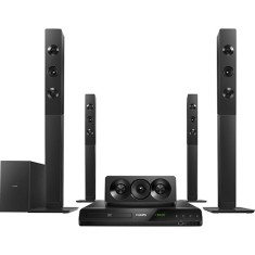 Home Theater Philips com DVD 1.000 W 5.1 Canais Karaokê 1 HDMI HTD5580X/78