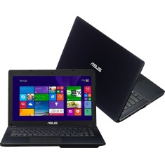 "Notebook Asus X Intel Celeron N2815 2GB de RAM HD 320 GB 14"" Windows 8 X451MA-VX029H"