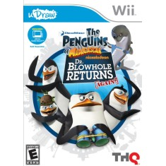 Jogo Penguins of Madagascar: Dr. Blowhole Returns Again Wii THQ