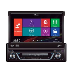 "DVD Player Automotivo Leadership 7 "" 5975 Touchscreen USB"