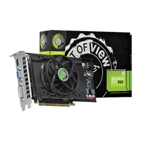 Placa de Video NVIDIA GeForce GTX 650 1 GB GDDR5 128 Bits Point Of View VGA-650-C1-1024