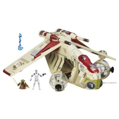 Boneco Star Wars Nave Republic Gunship A4646 - Hasbro