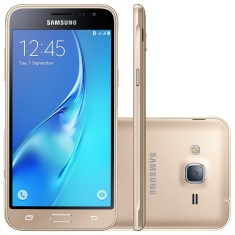Smartphone Samsung Galaxy J3 2016 8GB J320 8,0 MP 2 Chips Android 5.1 (Lollipop) 3G 4G Wi-Fi
