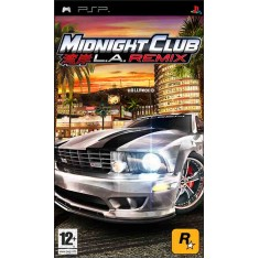 Jogo Midnight Club L.A. Remix Rockstar PlayStation Portátil