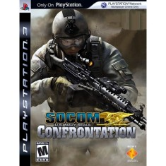 Jogo Socom Us Navy Seals Confrontation PlayStation 3 Sony