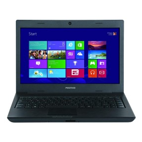 "Notebook Positivo Sim+ Intel Celeron 847 2GB de RAM HD 320 GB 14"" Windows 8 2500M"