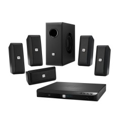 Home Theater JBL com Blu-Ray 3D 300 W 5.1 Canais 3 HDMI Cinema BD-100